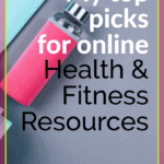 pinterest pin for my top picks for online health and fitness resources
