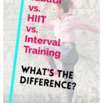 pinterest pin tabata vs hiit vs interval training what's the difference?