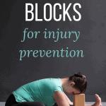 pinterest pin yoga blocks for injury prevention