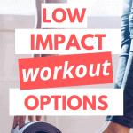 pinterest pin low impact workout options